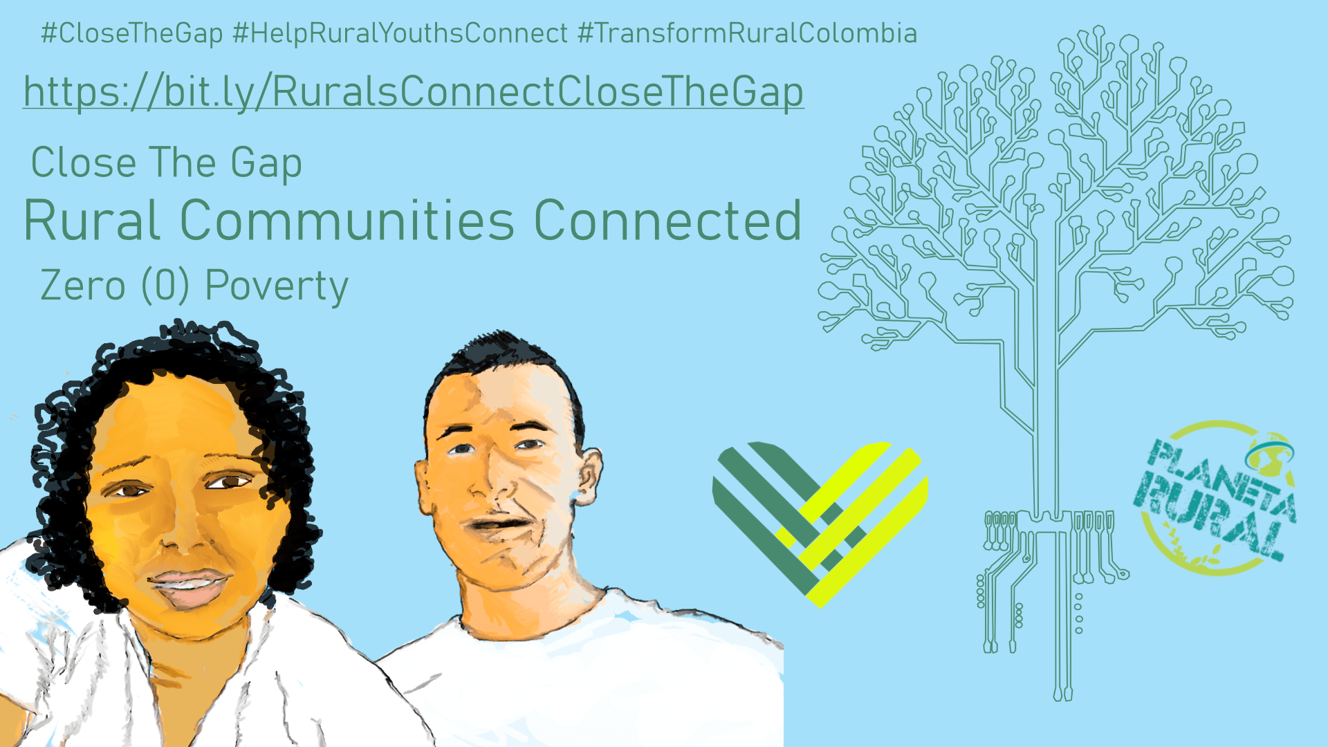 GivingTuesday Comunidades Rurales Conectadas Rural Communities Connected