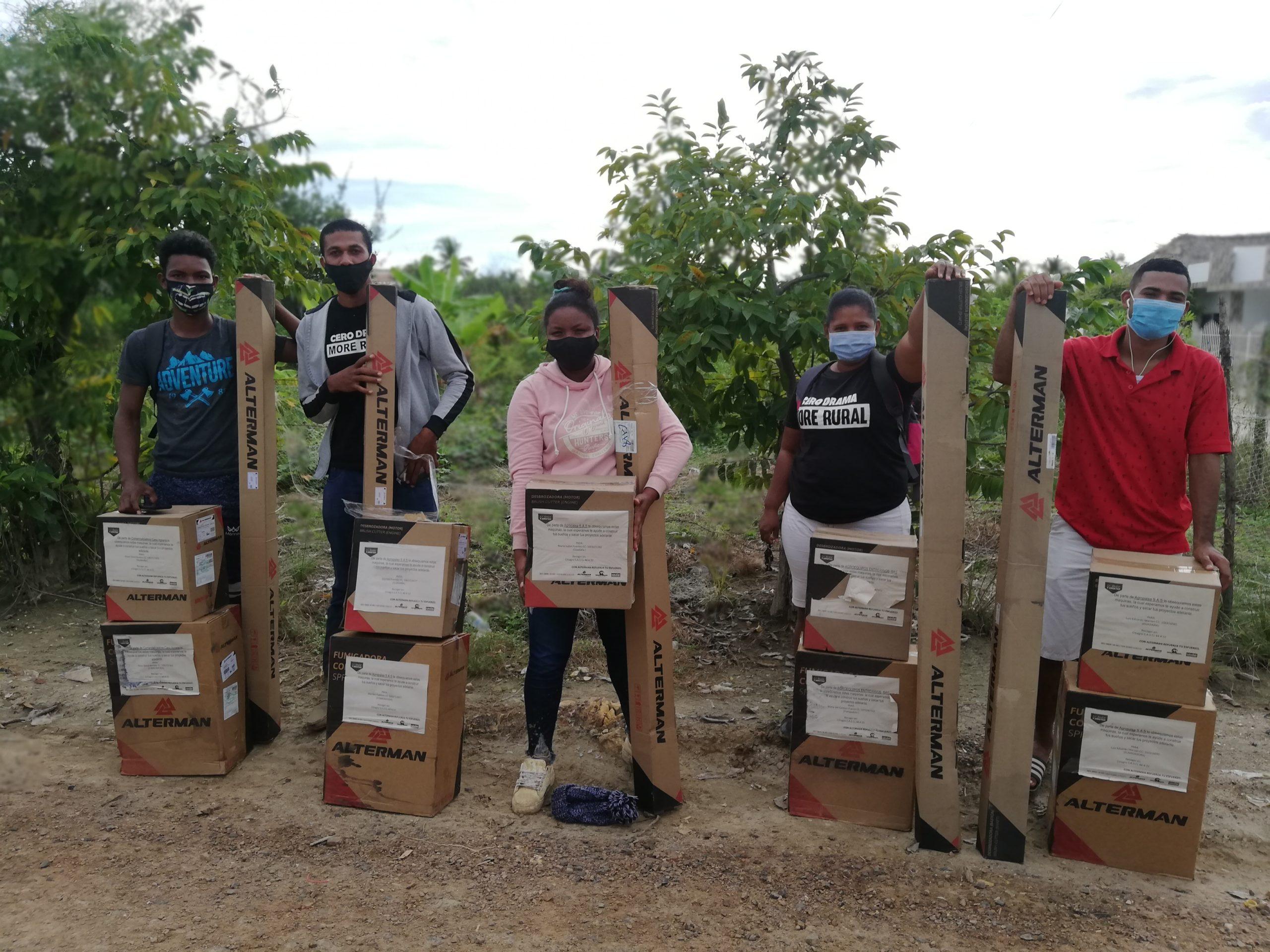 Savake Alianza Tecnificación del Campo en Colombia